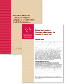 The Cultural and Linguistic Competence Assessment for Disability Organizations